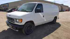 2002 Ford E-150, Cargo Van, NEW TIRES..many recent repairs
