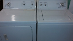Full size washer and electric dryer