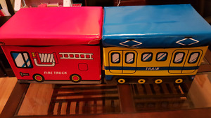 Collapsible Toy Boxes