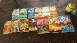 13 James Rollins Book Series
