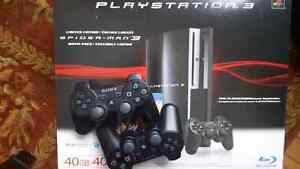 Playstation 3 - with 2 controllers