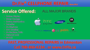 DrFiX IPHONE SAMSUNG HTC LG BLACKBERRY/ Android Phone Repair