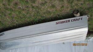14 foot Smokercraft V button aluminum boat