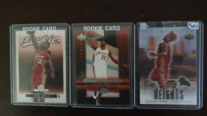 LeBron James Upper Deck Rookie Card set