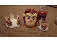 Large Yankee candle and accessories ..