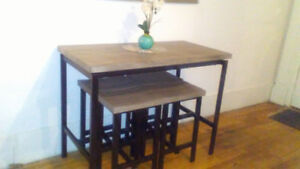 Brand new dining table for sale.