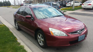 2004 Honda Accord exl Sedan 4 cylinder