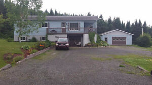 maison a vendre avec grand terrain gaspesie