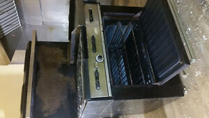 Commercial oven with stove top