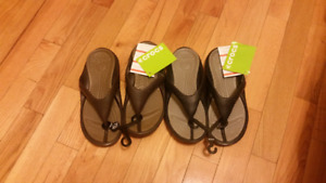 Brand New Ladies Crocs Sandles Size 7