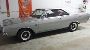 67 DART G.T  OLDER RESTORATION.FAST CAR $13500 TRADES?