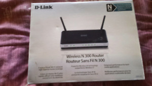D-link wireless N-300 router never used