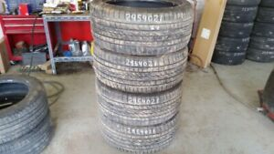 Set of 4 Continental CrossContact UHP 295/40R21 tires (65% tread