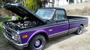 1971 gmc with zz 427 cu. in