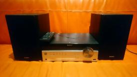 SONY CMT-SBT100B HiFI Stereo 50W DAB Radio Bluetooth Wireless USB CD -