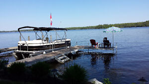 Prime Waterfront Jayco 40' Bungalow - Direct Lakefront Lot