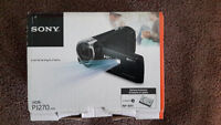 LIKE NEW SONY HANDYCAM WITH PROJECTOR