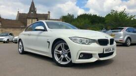 image for BMW 420 2.0TD ( 184bhp ) Auto d xDrive M Sport 2015 (64) pearl white full histir