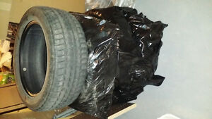 bmw x6 winter tire 255/50/19 London Ontario image 2