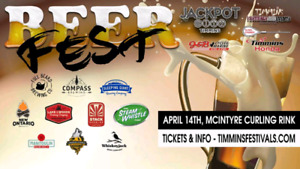 4 tickets to this Saturday's TFEC beerfest