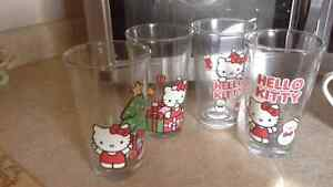 Hello kitty glasses and mugs