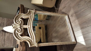Old distressed  mirror never been redone