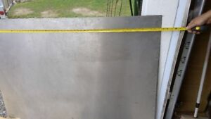 Large sheet stainless steel