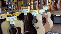 Mingo's Summer guitar sale #1- new guitars at USED prices!