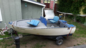 12ft fishing boat 40hp