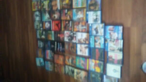 Assorted Blu-Rays and Dvds