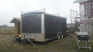 2010 Norfolk cargo /car hauler trailer