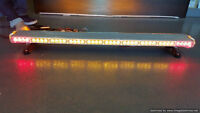 Emergency LED strobe light for tow truck,snow plow, construction