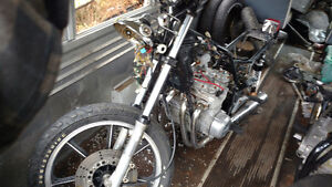 1981 Kawasaki KZ 550 LTD Parts Bike