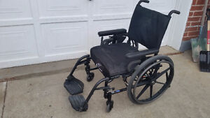 WHEELCHAIR WORKS GREAT, LOWEST PRICE, GREEN WALKER DELIVER