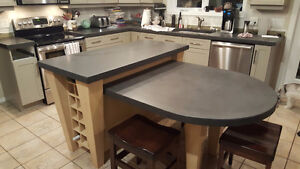 Concrete Counters for your outdoor or indoor kitchen