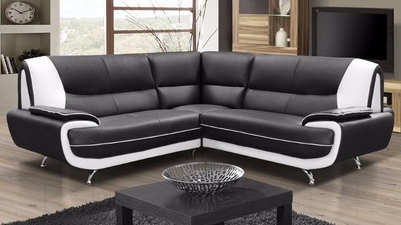 Brand New Palermo Corner Leather Sofa Suite Or 3 2 Seater Settee In Black White Red Grey Brown Cream Bexley London Gumtree