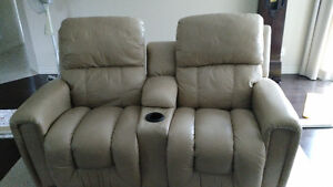 Double fauteuil inclinable