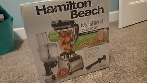 Brand New in Box: Hamilton Beach Blender and Food Processor
