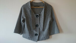 Nine West Women's Blazer and North Face Women's Blouse - Pre-own