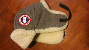 Authentic Canada Goose Shearling Pilot Hat