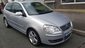 2008MY Volkswagen Polo 1.9 TDI (100PS) Sport 3dr * Full S/History * New MOT *