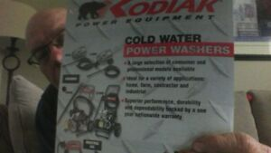 KODIAK HIGH PRESSURE POWER WASHER