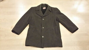 Men's Lined Wool Dress Coat - 38 Short