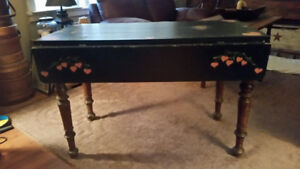 Antique Double Dropleaf table