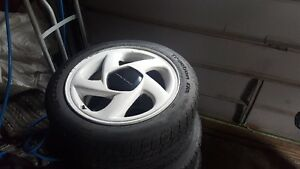 5X114.3 17'' wheels and tires
