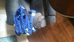 3 pairs of used firewall coveralls
