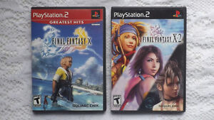 PlayStation 2 PS2 Final Fantasy X and X-2