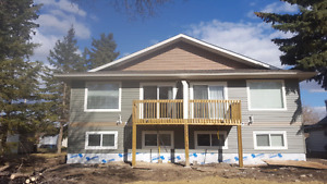 Brand New 4 plex for rent  in Camrose with A/C
