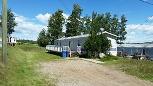 Mobile home on own lot in Pouce Coupe