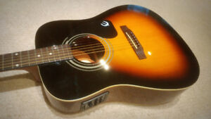 Epiphone Acoustic Electric - $175